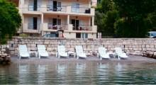 Апартаменты в доме с собственным пляжем для 5-х